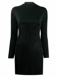 Jean Paul Gaultier Pre-Owned 1990s contrast panel top - Black