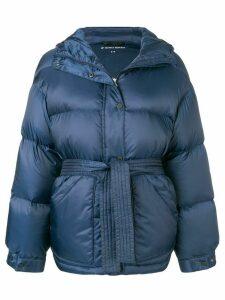 Perfect Moment hooded oversized jacket - Blue