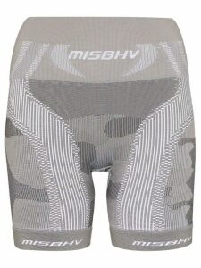 MISBHV military knit cycling shorts - Green