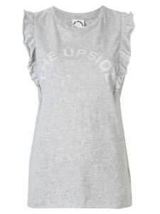 The Upside Frill Muscle tank top - Grey