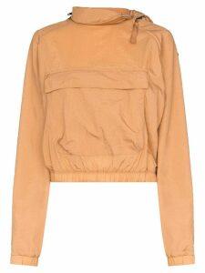 Reebok x Victoria Beckham x Victoria Beckham zip neck logo hoodie -