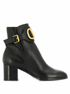 Valentino Valentino Garavani VLOGO boots - Black