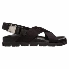 Prada Madras Sandals