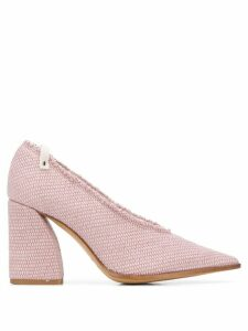 Premiata Decolette block heel pumps - PINK