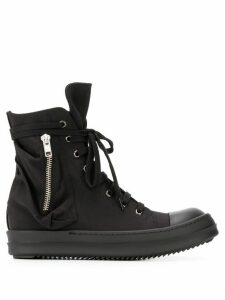Rick Owens DRKSHDW high-top lace-up sneakers - Black