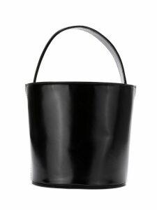 Sarah Chofakian leather bucket bag - Black
