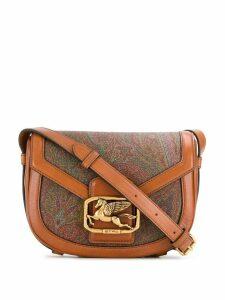 Etro paisley print crossbody bag - Brown