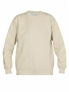 Off-White Diag Oversize Crew Sweatshirt