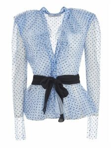 Philosophy di Lorenzo Serafini Dotted Belted Blouse