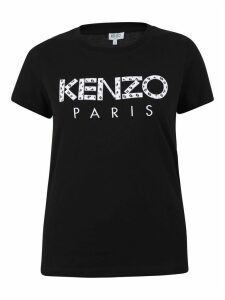Kenzo Patched Jersey T-shirt