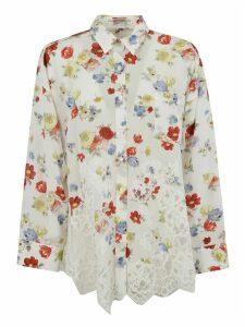 Ermanno Scervino Floral Print Shirt