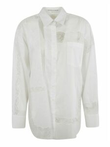 Ermanno Scervino Buttoned Laced Shirt
