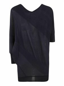 Antonio Marras V-neck Ribbed Mid-length Sweater