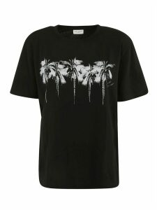 Saint Laurent Front Print T-shirt