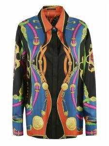 Versace Woven Multiprint Shirt