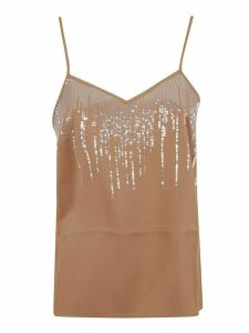 Fabiana Filippi Sequin-detailed Tank Top