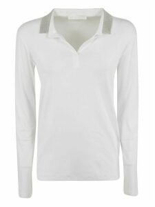 Fabiana Filippi Long-sleeve Polo Shirt