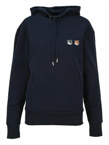 Maison Kitsune Double Fox Head Patch Hoodie