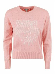 Kenzo Lacehole Tiger Head Sweatshirt