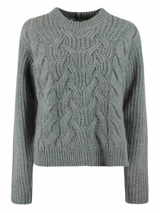 Helmut Lang Cable Crewneck Sweater