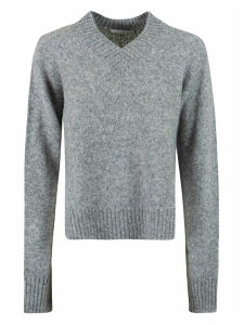 Helmut Lang Brushed Vnk Tie Sleeve Sweater
