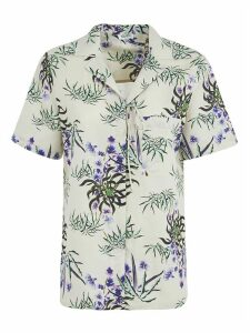 Kenzo Knot Detail Hawaiian Shirt