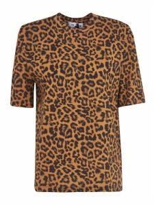 The Attico Leopard Print Top