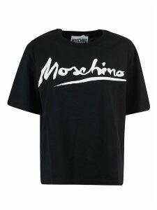 Moschino Logo Print Oversized T-shirt