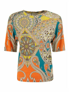 Etro All-over Printed Blouse