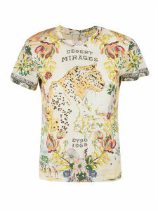 Etro Tiger Print Fitted T-shirt