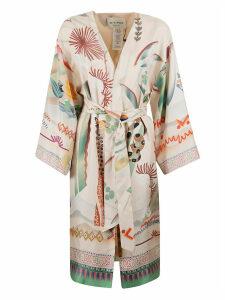 Etro Floral Wrap Kimono