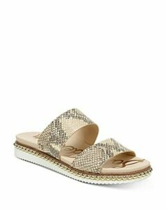 Sam Edelman Women's Asha Studded Leather Slide Sandals