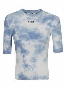 MSGM Knit Logo T-shirt