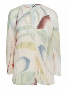 Etro Pleated Printed Blouse