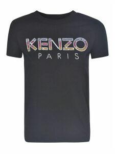 Kenzo Logo Paillette T-shirt