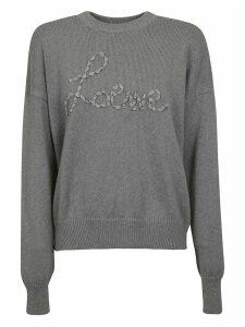 Loewe Logo Embroidered Sweatshirt