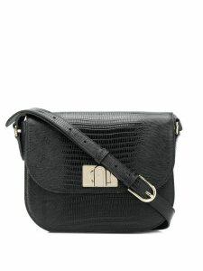 Furla textured shoulder bag - Black