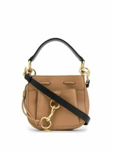 See by Chloé Tony mini bucket bag - Brown