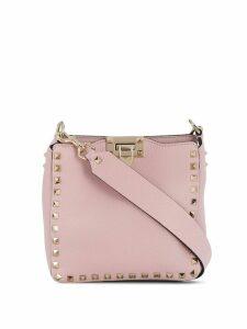 Valentino Valentino Garavani Rockstud messenger bag - PINK