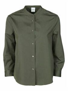 Aspesi Round Collar Buttoned Shirt