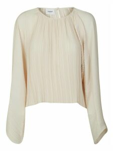 Dondup Pleated Long-sleeve Blouse