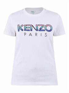 Kenzo Sequined Cotton T-shirt
