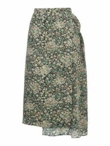 N.21 Printed Long Skirt