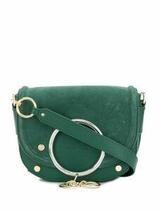 See by Chloé Mara ring-embellished crossbody bag - Green