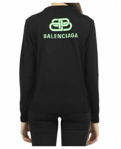 Balenciaga Black Logo Sweater