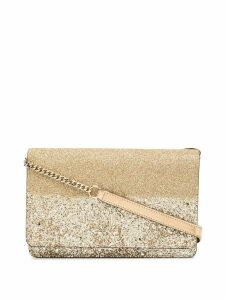 Jimmy Choo mini Palace crossbody bag - GOLD