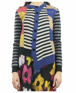 Colville Blue Twisted Cardigan