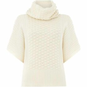 Max Mara Studio Ribbed short sleeve knit