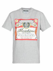 Moschino Budweiser Label T-shirt