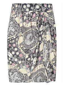 Isabel Marant Étoile Pleated Long Skirt